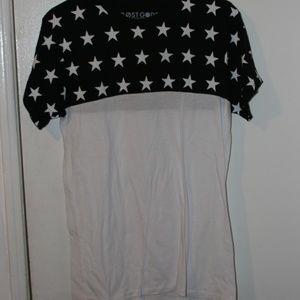 White & Black Stars T-Shirt